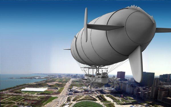 Airship Over Chicago