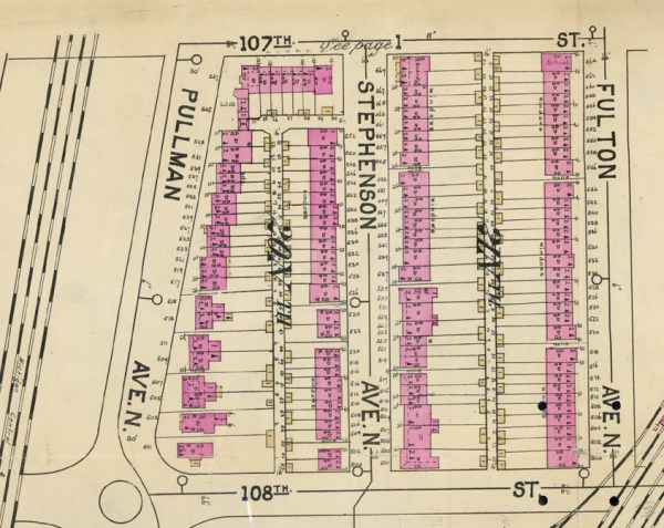 Pullman Map