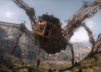 Wild Wild West Mechanical Spider