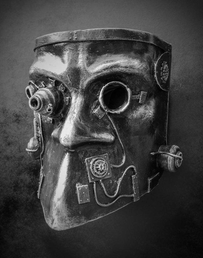 Steampunk Bauta Mask 2