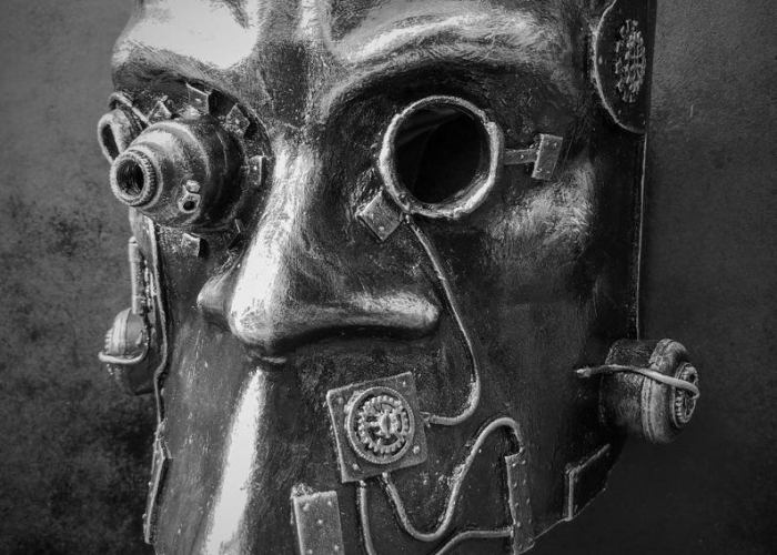 Steampunk Bauta Mask 2