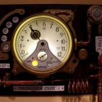 The Chronological Engine Working Steampunk Clock 5