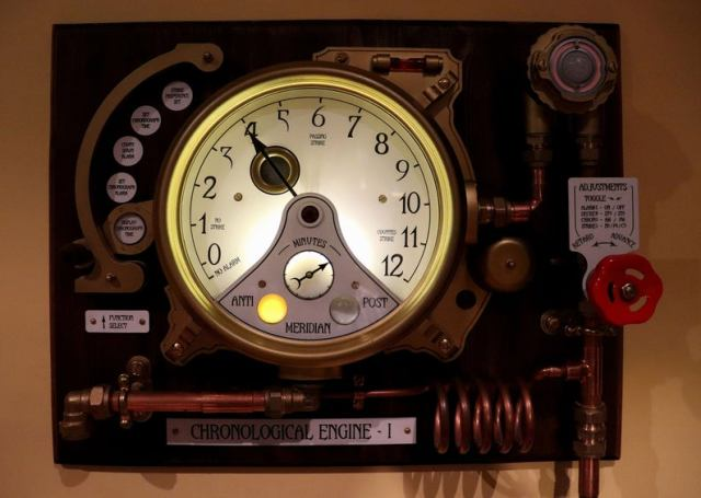 The Chronological Engine Working Steampunk Clock 5 Steampunk Inventions By John Bunce.