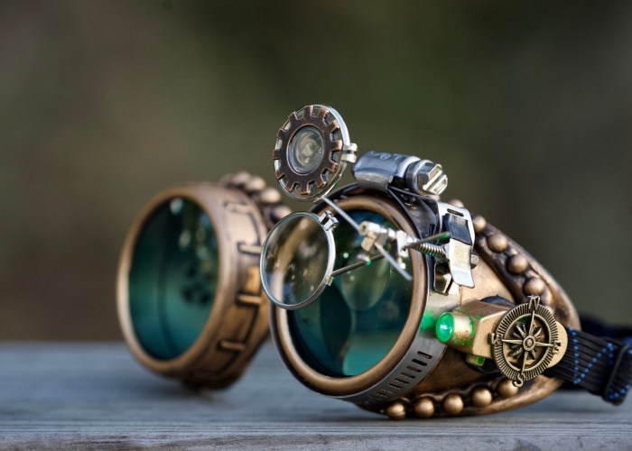 Victorian Steampunk Style Goggles.