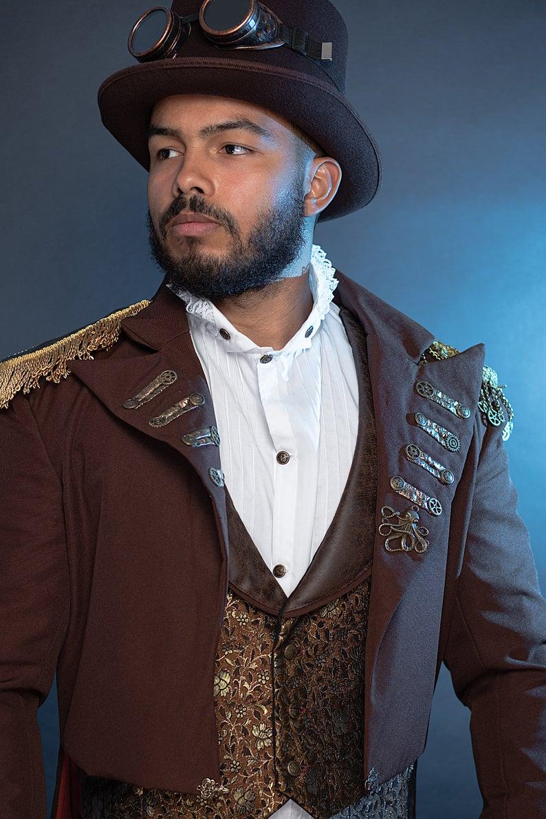 steampunk shirt waistcoat and jacket