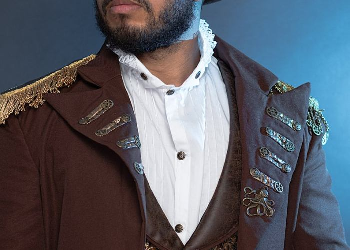 steampunk shirt waistcoat and jacket
