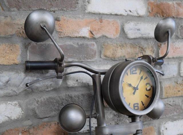 Steampunk motorcycle Motorbike Clock.jpg 3