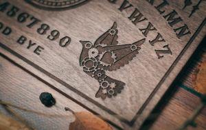 Steampunk Themed Ouija Board. 3
