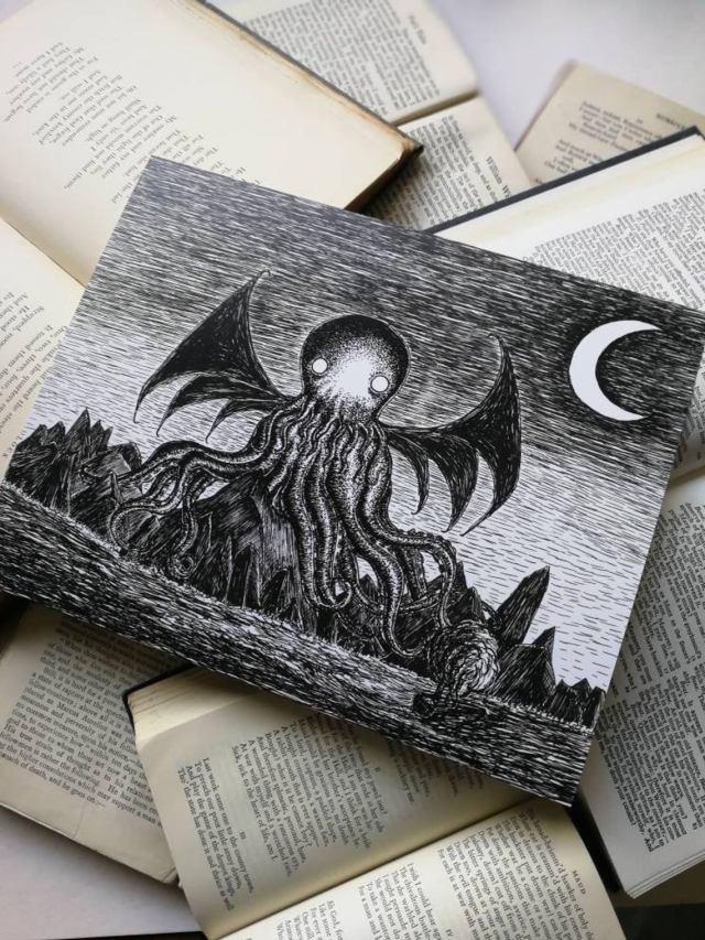 The Call of Cthulhu. An art print by Jon Turner. 2