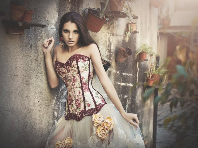 Corset Victorian Style 1