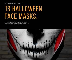 13 Halloween Face Masks from Etsy U.K.