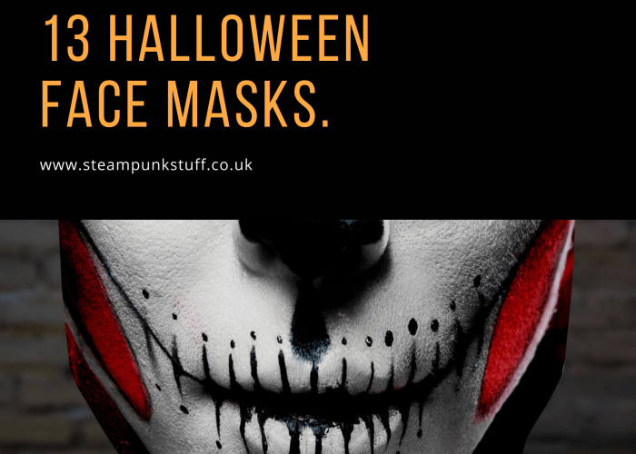 13 Halloween Face Masks from Etsy U.K.