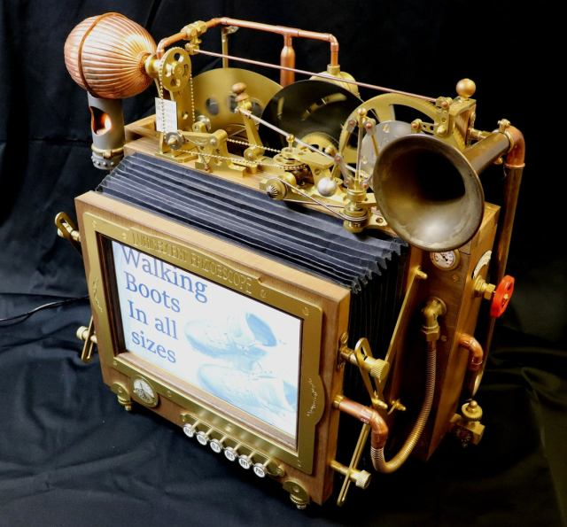 Luminescent Epizoescope Steampunk Inventions By John Bunce.