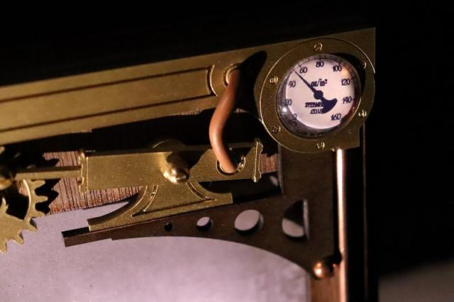 Mechanical Steampunk Picture Frame 5