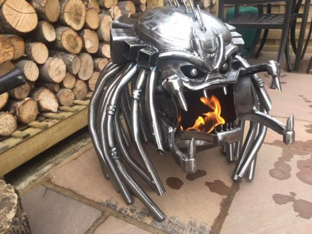 Predator Wood Burner - Predator Fire Pit - Outdoor Wood Burner  2