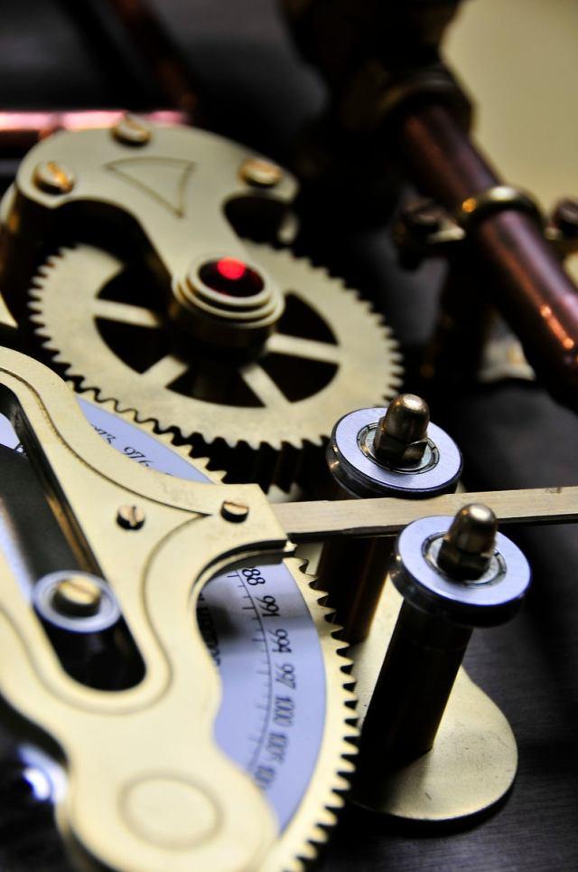 The Barometric Prognosticator 3 Working Steampunk Weather Machine 5