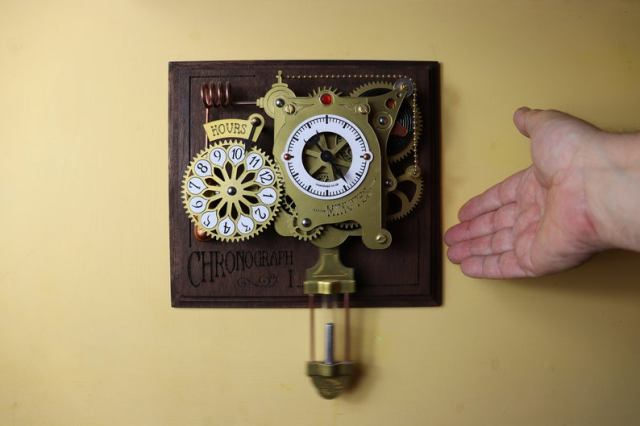 The Chronograph Steampunk Clock  6