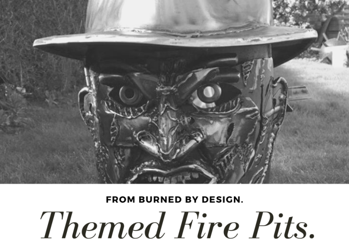 Themed Wood Burners From Burned By Design. blog banner A Nightmare On Elm Street Freedy Kruger