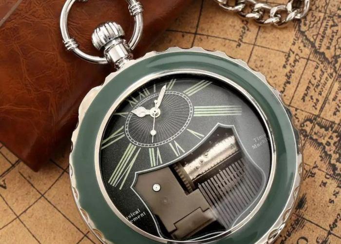 The Chronograph Steampunk Clock.