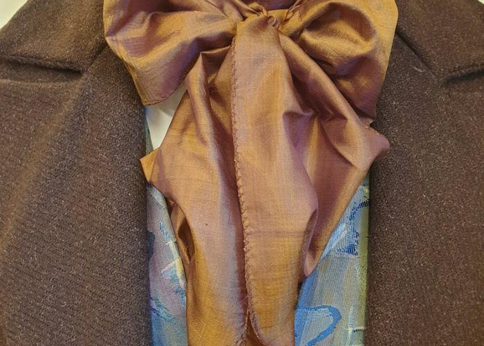 Regency Necktie Scarf. Created by Harlequinsue.