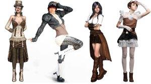 Steampunk Fashion Apparel