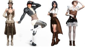 Steampunk Fashion Apparel