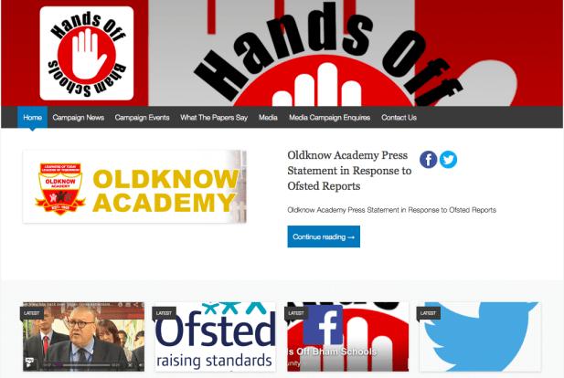 Hands Off Bham Schools