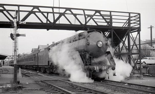 3801 steam train Goulburn Southern Highlands Express