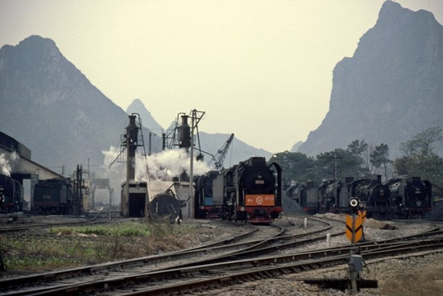 guilin china steam train FD