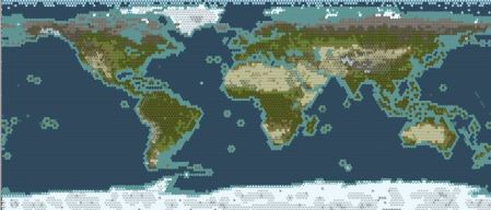 Sid Meier s Civilization V Super Accurate Giant Earth Map