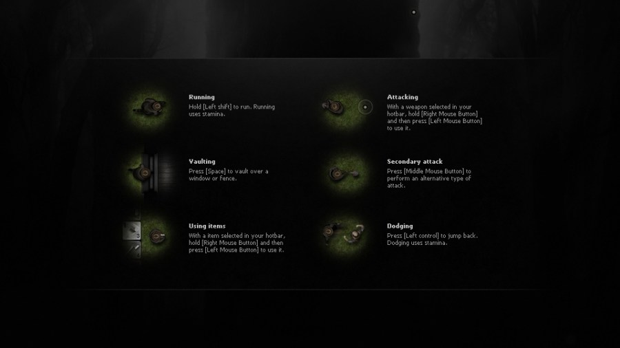 Steam Community    Guide    Darkwood   Beginner Tips for the         right way  I haven t used a Gamepad yet  I might try it one of these  days just to see how it is or if it plays any better than the  Keyboard Mouse combo