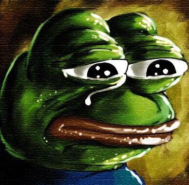 Sad Pepe Minecraft Skin