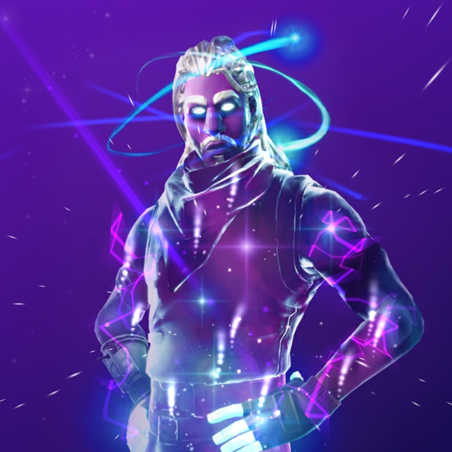Galaxy Skin Fortnite Wallpaper 4k
