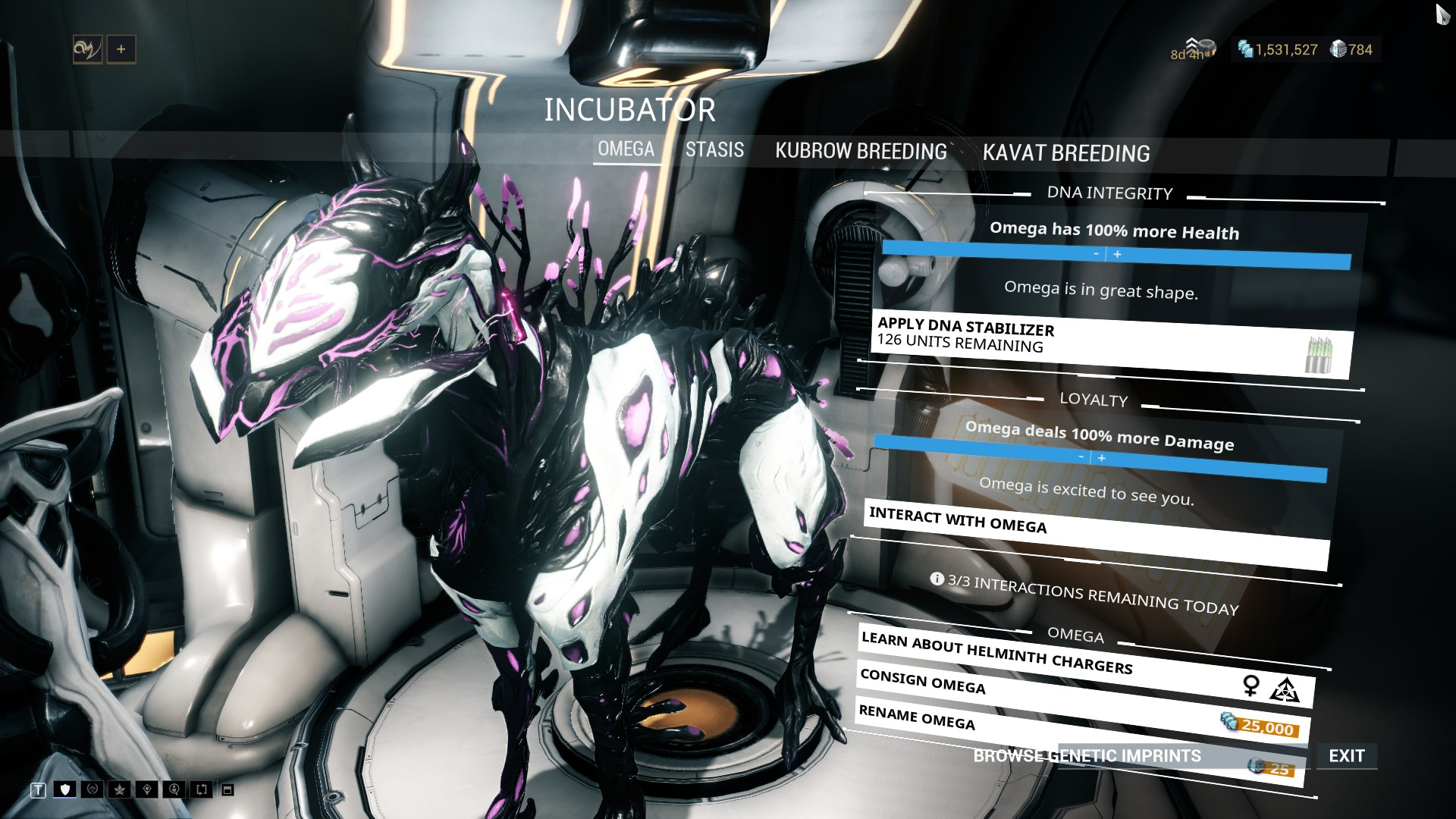 Omega Helminth Charger General Discussion Warframe Forums
