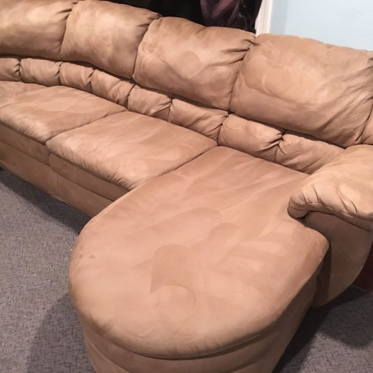 sectional upholstery clean after