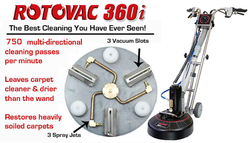 carpet cleaning roto vac