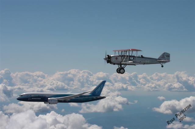 2010 Boeings Model 40 and Dreamliner
