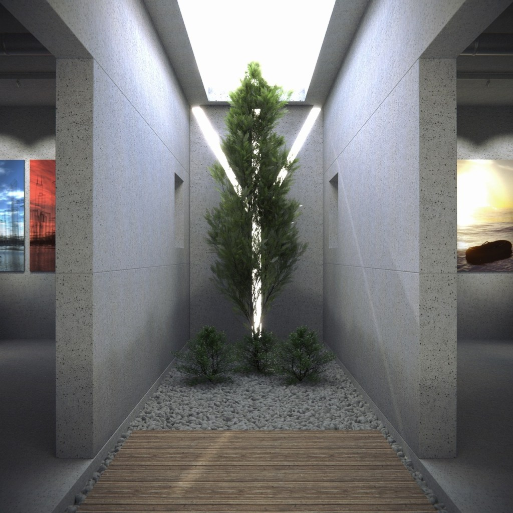 architecture, 3d, rendering
