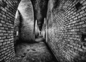 wall, bricks, structure