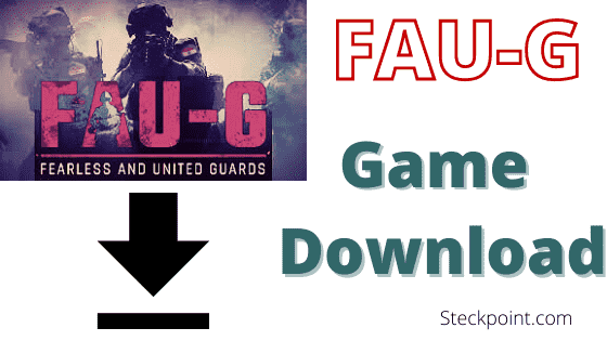 FAUG game Download Kaise Kare