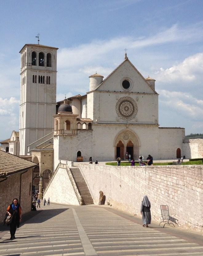 Basilica di San Francesco, Assisi, Umbrien, Italien.