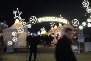 Julemarkedet Weisserzauber i Hamburg, Tyskland