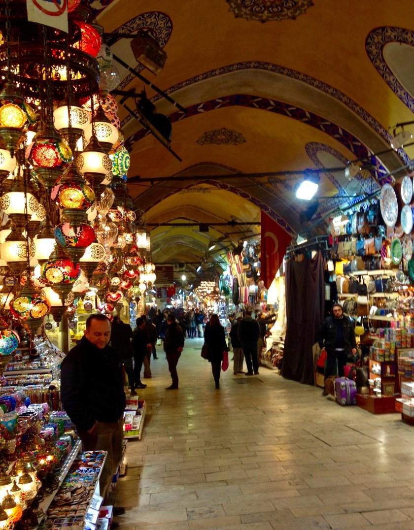 Kapalı Çarsı, Den Store Bazar, Istanbul, Tyrkiet.