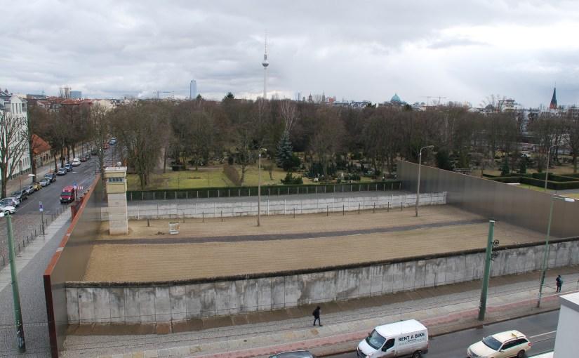 Gedenkstätte Berliner Mauer, Bernquerstrasse.