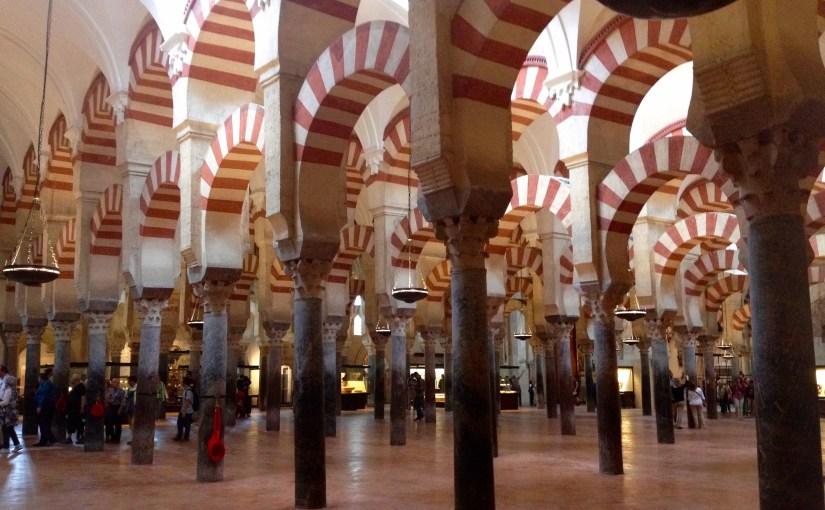 La Mezquita, Cordoba, Andalusien, Spanien.