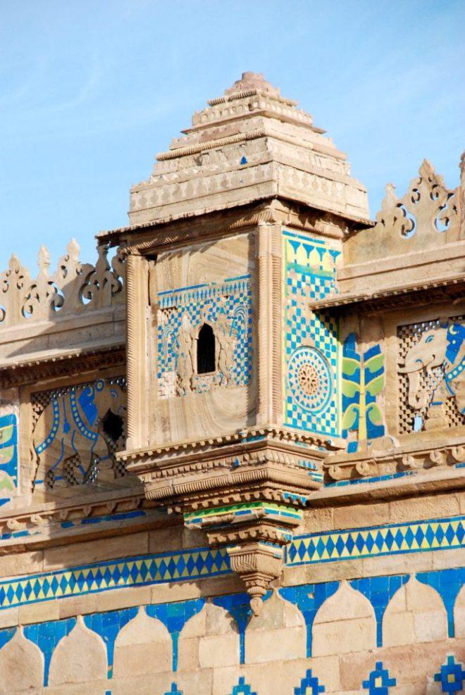 Gwalior Fort, Madhya Pradesh, Indien. © Bitten Holmsgaard.
