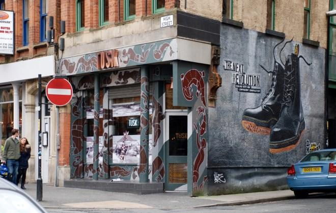 Skobutik, Northern Quarter, Manchester, England.