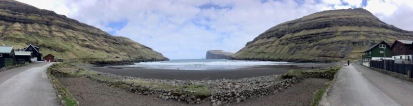 Tjørnuvík, Færøerne