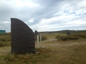 Mindeparken om Jyllandsslaget i Thyborøn