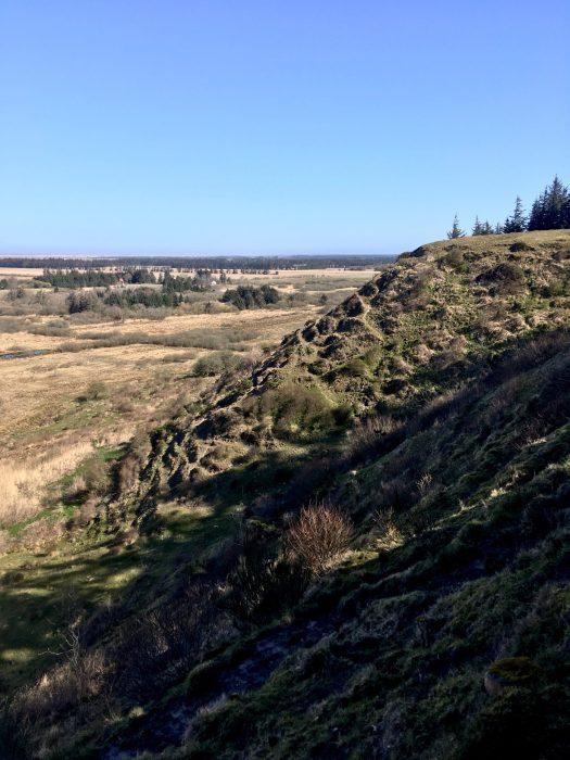 Blandt bavnehøje og hellige kilder - vandreruten Tranum-Fosdal